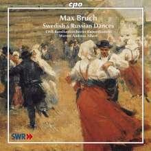 Max Bruch (1838-1920): Schwedische Tänze op.63 (Orchestersuiten Nr.1 & 2), CD