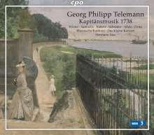 Georg Philipp Telemann (1681-1767): Hamburgische Kapitänsmusik (1738), 2 CDs