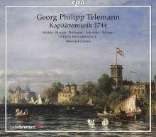 Georg Philipp Telemann (1681-1767): Hamburgische Kapitänsmusik TVWV 15:15 (1744), 2 CDs