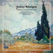 Julius Röntgen (1855-1932): Klavierkonzerte Nr.2 & 4, CD