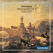 Georg Philipp Telemann (1681-1767): Bläserkonzerte Vol.5, CD