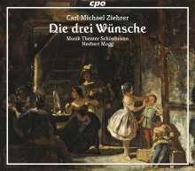 Carl Michael Ziehrer (1843-1922): Die drei Wünsche, 2 CDs