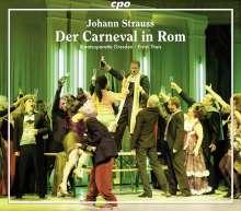 Johann Strauss II (1825-1899): Der Carneval in Rom, 2 CDs