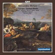 Alessandro Melani (1639-1703): L'Europa (Festa teatrale), CD