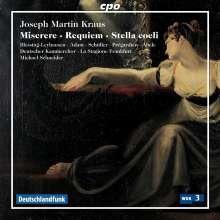 Josef Martin Kraus (1756-1792): Requiem für Soli, Chor & Orchester, CD