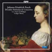 Johann Friedrich Fasch (1688-1758): Dresdner Ouvertüren, Sinfonias & Konzerte, CD