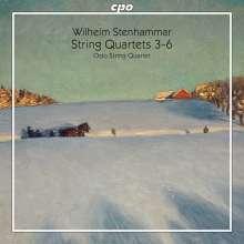 Wilhelm Stenhammar (1871-1927): Streichquartette Nr.3-6, 2 Super Audio CDs