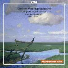 Heinrich von Herzogenberg (1843-1900): Sämtliche Violinsonaten, 2 CDs