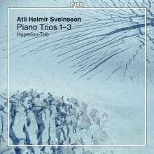 Atli Heimir Sveinsson (1938-2019): Klaviertrios Nr.1-3, CD