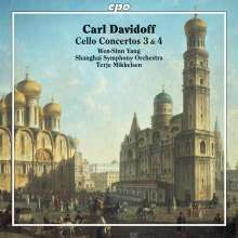 Carl Davidoff (1838-1889): Cellokonzerte Nr.3 & 4, CD