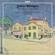 Julius Röntgen (1855-1932): Violinkonzerte a-moll & fis-moll, CD