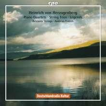 Heinrich von Herzogenberg (1843-1900): Klavierquartette op.75 & 95, 2 CDs