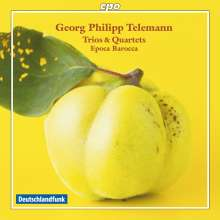 Georg Philipp Telemann (1681-1767): Triosonaten, CD