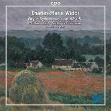 Charles-Marie Widor (1844-1937): Symphonie op.42 für Orgel & Orchester, Super Audio CD