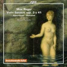 Max Reger (1873-1916): Sämtliche Sonaten für Violine & Klavier Vol.6, CD