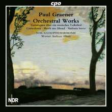 Paul Graener (1872-1944): Orchesterwerke Vol.1, CD