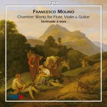 Francesco Molino (1775-1847): Kammermusik mit Gitarre, CD