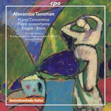 Alexandre Tansman (1897-1986): Werke für Klavier & Orchester, CD