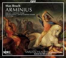 Max Bruch (1838-1920): Arminius op.43 (Oratorium), 2 CDs