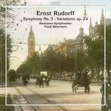 Ernst Rudorff (1840-1916): Symphonie Nr.3 h-moll op.50, CD