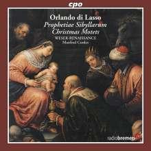 Orlando di Lasso (Lassus) (1532-1594): Prophetiae Sibyllarum (22 Weihnachtsmotetten), CD