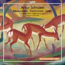 Artur Schnabel (1882-1951): Klavierquintett, 2 CDs