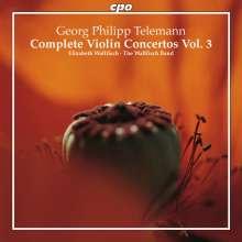 Georg Philipp Telemann (1681-1767): Sämtliche Violinkonzerte Vol.3, CD
