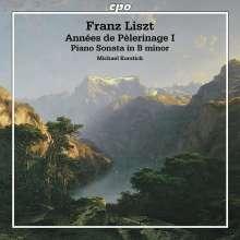 Franz Liszt (1811-1886): Annees de Pelerinage (1.Jahr:Schweiz), CD