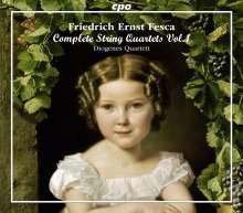 Friedrich Ernst Fesca (1789-1826): Streichquartette Vol.1, 3 CDs