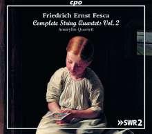 Friedrich Ernst Fesca (1789-1826): Streichquartette Vol.2, 4 CDs