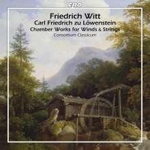Friedrich Witt (1770-1837): Kammermusik für Bläser, CD