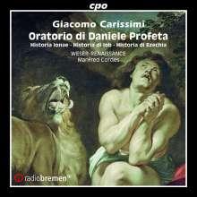 Giacomo Carissimi (1605-1674): Vier Oratorien, CD