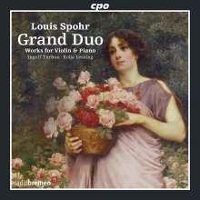 Louis Spohr (1784-1859): Werke für Violine & Klavier, CD