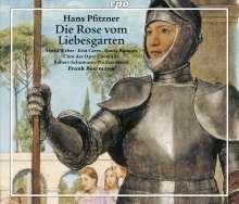 Hans Pfitzner (1869-1949): Die Rose vom Liebesgarten, 3 CDs