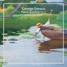 George Enescu (1881-1955): Klavierquartette Nr.1 & 2 (op.16 & 30), CD