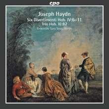 Joseph Haydn (1732-1809): Flötentrios H4 Nr.6-11, CD