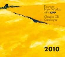 CPO-Gesamtkatalog 2010 + Telemann-CD, CD