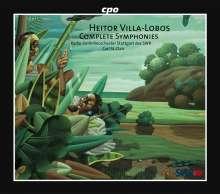 Heitor Villa-Lobos (1887-1959): Sämtliche Symphonien, 7 CDs