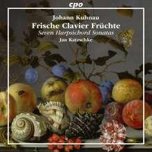 Johann Kuhnau (1660-1722): Frische Clavier-Früchte, CD