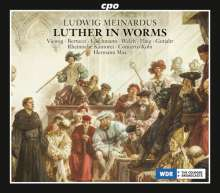 Ludwig Meinardus (1827-1896): Luther in Worms (Oratorium), 2 CDs