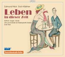 """Edmund Nick (1891-1974): Lyrische Suite """"Leben in dieser Zeit  (Radiomusiken Vol.1), 2 CDs"""