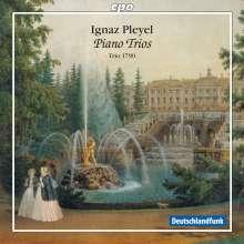 Ignaz Pleyel (1757-1831): Klaviertrios C-Dur,e-moll,A-Dur,f-moll (Ben 441,435,448,442), CD