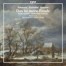 Mitteldeutsche Barock-Kantaten, CD