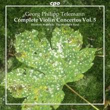 Georg Philipp Telemann (1681-1767): Sämtliche Violinkonzerte Vol.5, CD