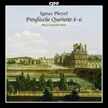 """Ignaz Pleyel (1757-1831): Streichquartette """"Preußische Quartette 4-6"""", CD"""