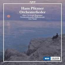 Hans Pfitzner (1869-1949): Orchesterlieder, CD
