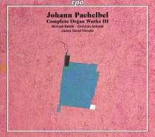 Johann Pachelbel (1653-1706): Sämtliche Orgelwerke Vol.3, 3 SACDs