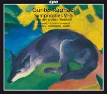 Günter Raphael (1903-1960): Symphonien Nr.2-5, 3 CDs