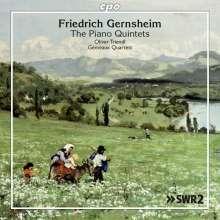 Friedrich Gernsheim (1839-1916): Klavierquintette Nr.1 d-moll op.35 & Nr.2 h-moll op.63, CD