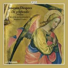 Josquin Desprez (1440-1521): Motetten (Psalmvertonungen), CD